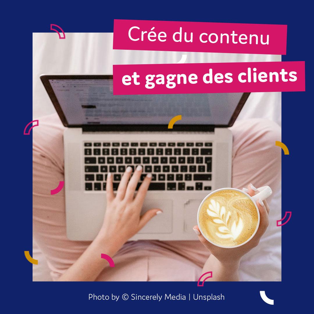 Publier du contenu sur internet pour gagner des clients